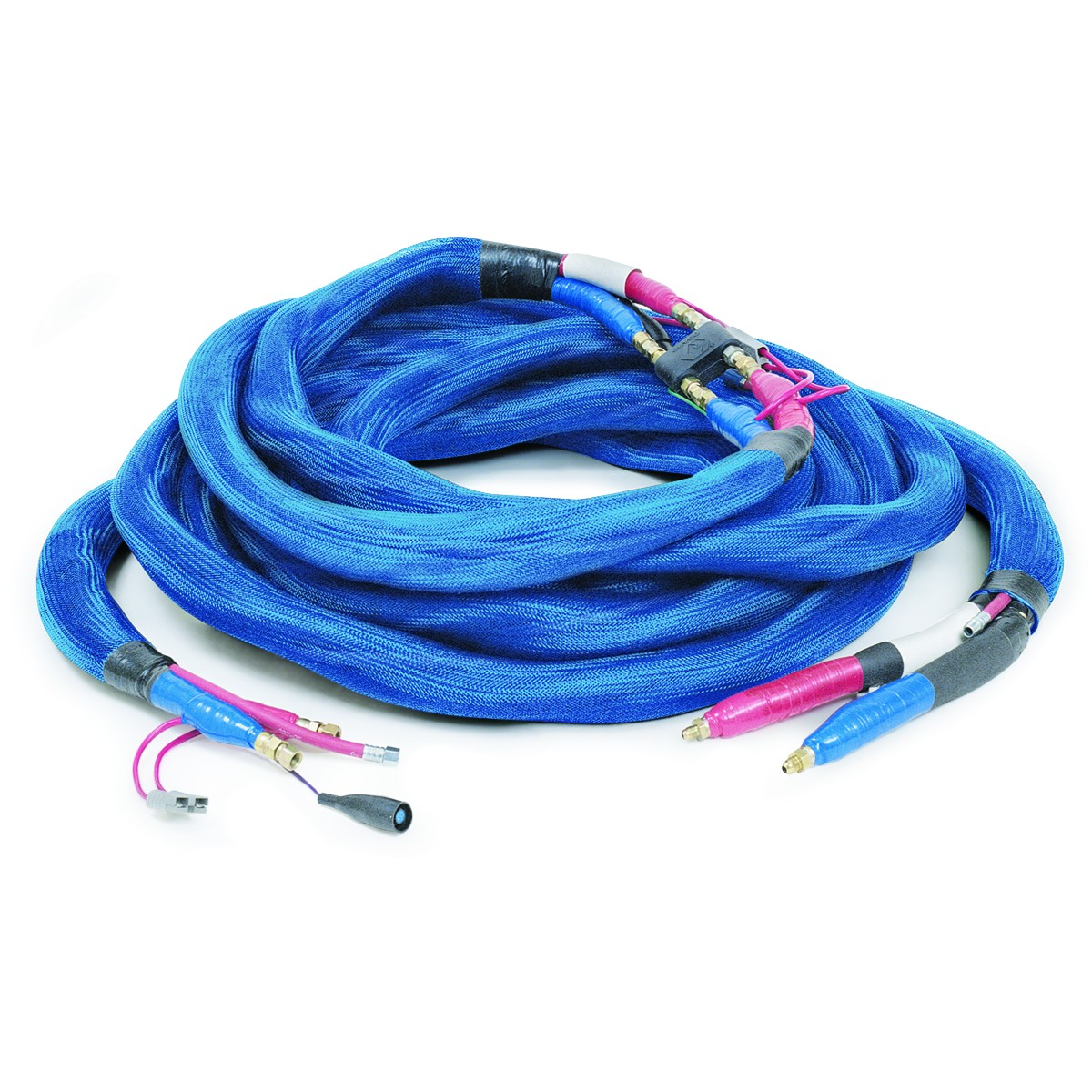 Hoses 3/8'' x 50' HP with RTD and scuffing