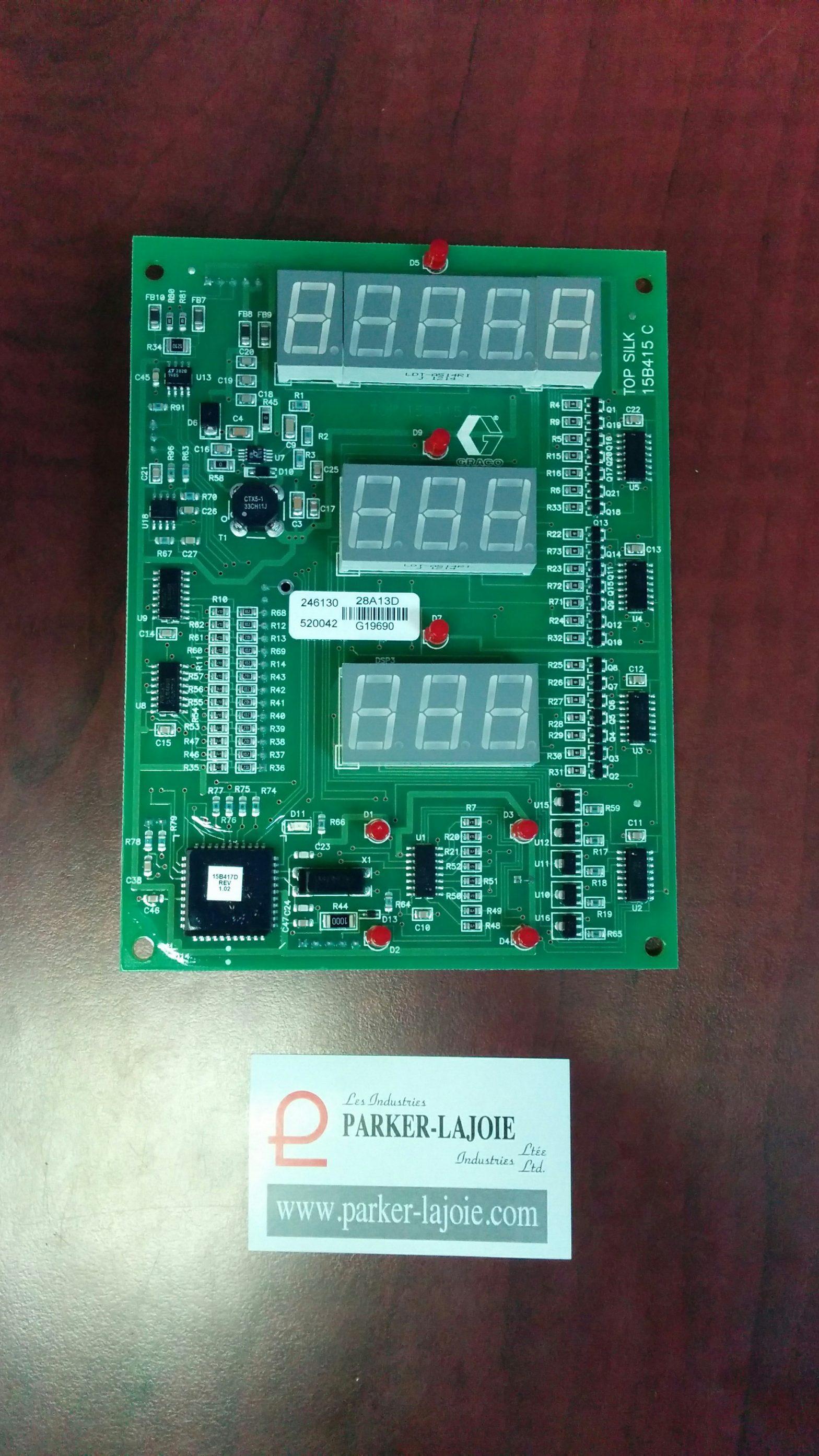 Carte électronique du tableau-0