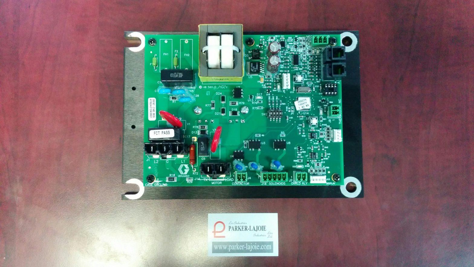 Carte électronique du moteur H-25 -0